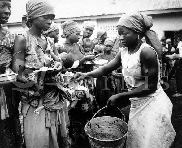 biafra starve